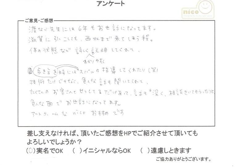 小森 優子 20代 女性
