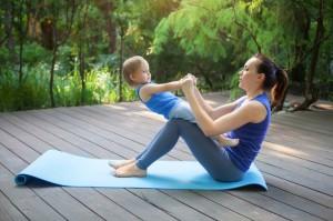 産後骨盤エクササイズ 指導