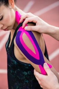 テーピング 筋肉へのアプローチ