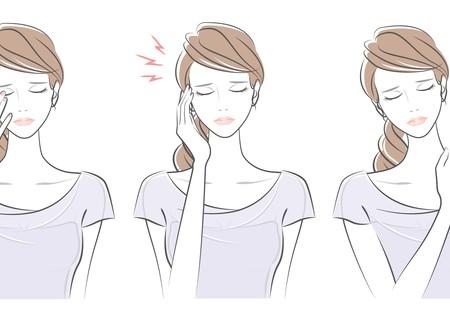 眼精疲労 締めつけられる頭痛 肩こり